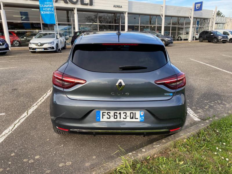 Renault Clio V Clio E-Tech 140 Intens 5p Gris occasion à Agen - photo n°4
