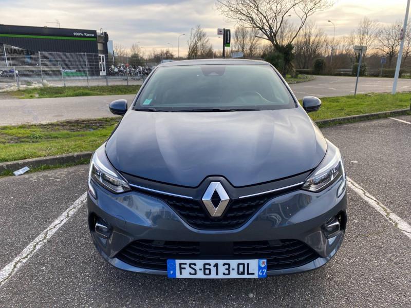 Renault Clio V Clio E-Tech 140 Intens 5p Gris occasion à Agen - photo n°2