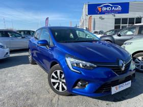 Renault Clio V Bleu, garage BHD AUTO à Biganos