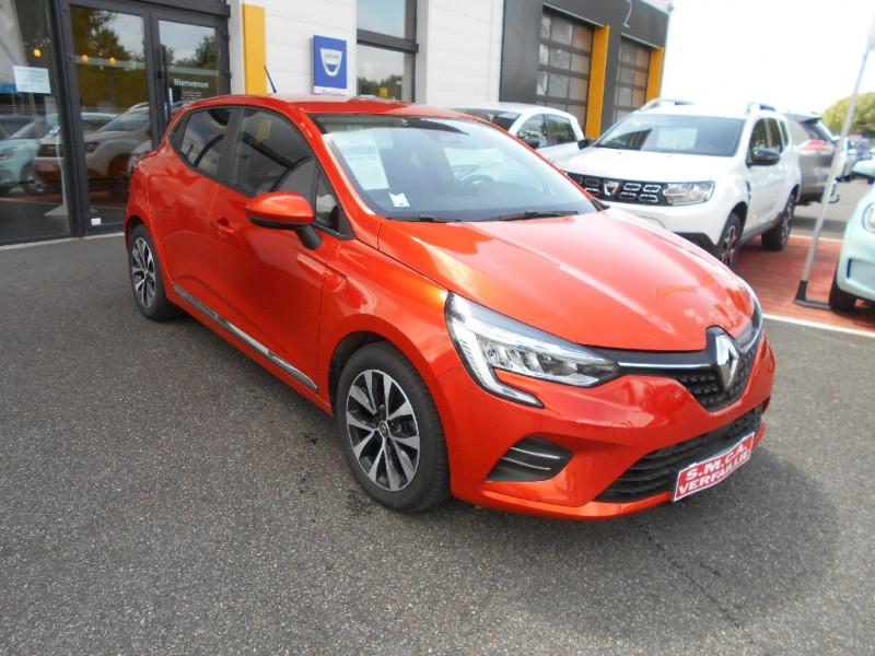 Renault Clio V Clio TCe 100 Intens Orange occasion à Bessières
