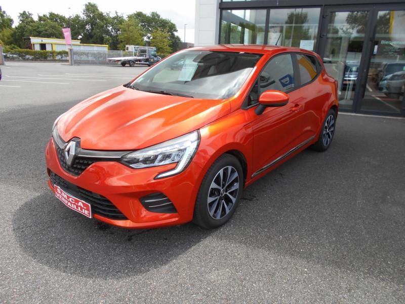 Renault Clio V Clio TCe 100 Intens Orange occasion à Bessières - photo n°5