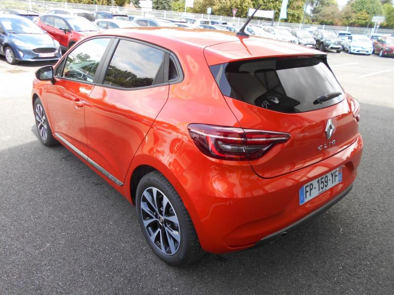 Renault Clio V Clio TCe 100 Intens Orange occasion à Bessières - photo n°8
