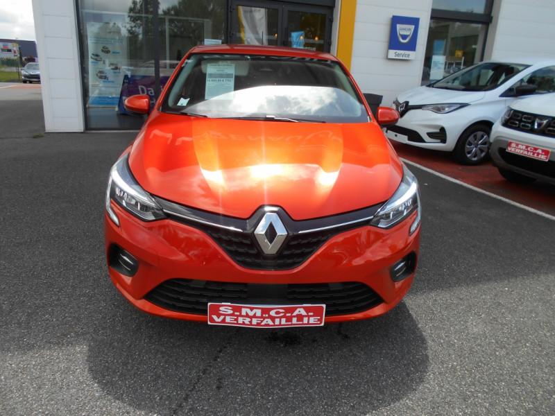 Renault Clio V Clio TCe 100 Intens Orange occasion à Bessières - photo n°6