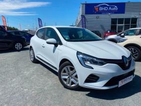 Renault Clio V Blanc, garage BHD AUTO à Biganos