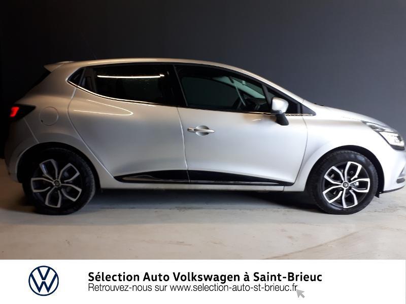 Renault Clio 0.9 TCe 90ch energy Intens 5p Euro6c Gris occasion à Saint Brieuc - photo n°2