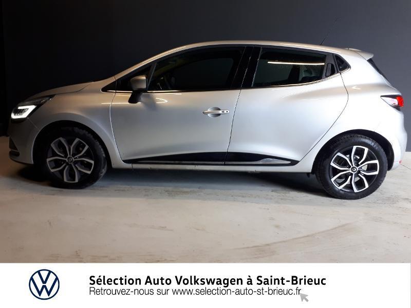 Renault Clio 0.9 TCe 90ch energy Intens 5p Euro6c Gris occasion à Saint Brieuc - photo n°4