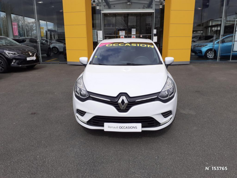Renault Clio 0.9 TCe 90ch Intens 5p Blanc occasion à Bernay - photo n°2