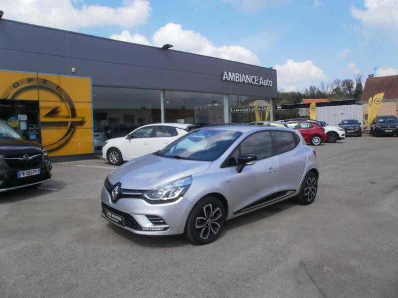 Renault Clio 0.9 TCe 90ch Limited 5p Gris occasion à Auxerre