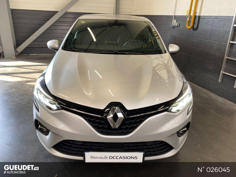 Renault Clio 1.0 TCe 100ch Intens - 20 Gris occasion à Berck - photo n°2
