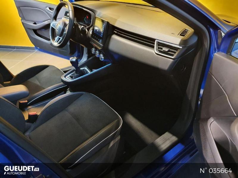 Renault Clio 1.0 TCe 100ch Intens - 20 Bleu occasion à Saint-Maximin - photo n°4