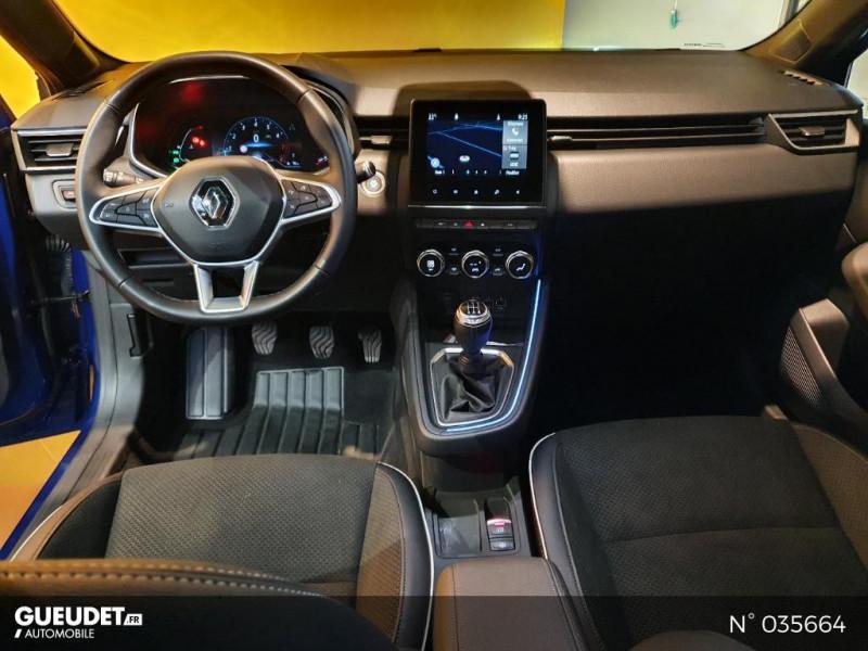 Renault Clio 1.0 TCe 100ch Intens - 20 Bleu occasion à Saint-Maximin - photo n°10