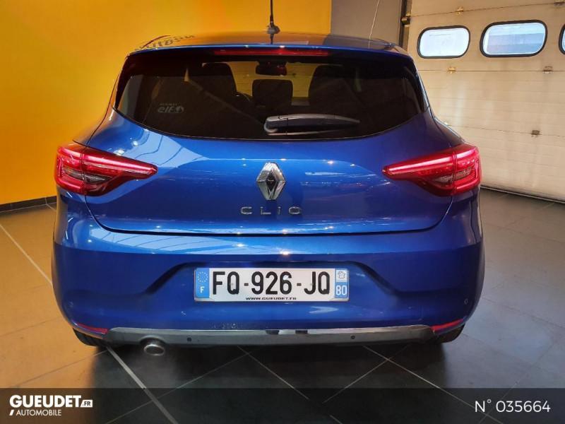 Renault Clio 1.0 TCe 100ch Intens - 20 Bleu occasion à Saint-Maximin - photo n°3