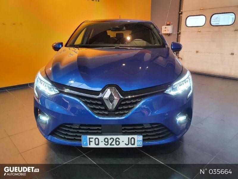 Renault Clio 1.0 TCe 100ch Intens - 20 Bleu occasion à Saint-Maximin - photo n°2