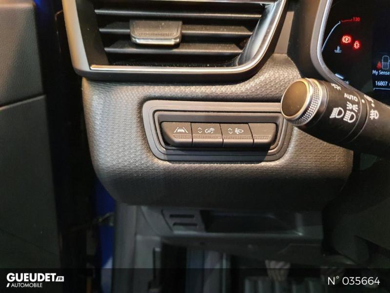 Renault Clio 1.0 TCe 100ch Intens - 20 Bleu occasion à Saint-Maximin - photo n°15