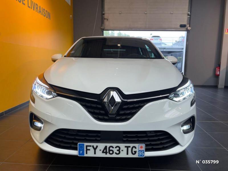Renault Clio 1.0 TCe 100ch Intens - 20 Blanc occasion à Saint-Maximin - photo n°2