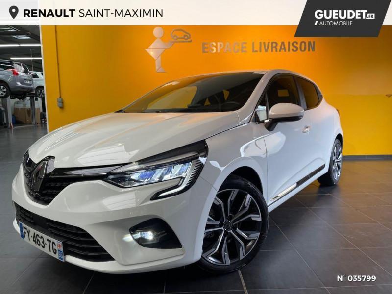 Renault Clio 1.0 TCe 100ch Intens - 20 Blanc occasion à Saint-Maximin