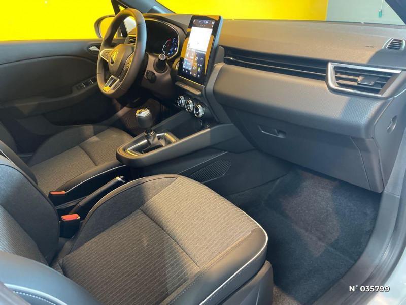 Renault Clio 1.0 TCe 100ch Intens - 20 Blanc occasion à Saint-Maximin - photo n°4