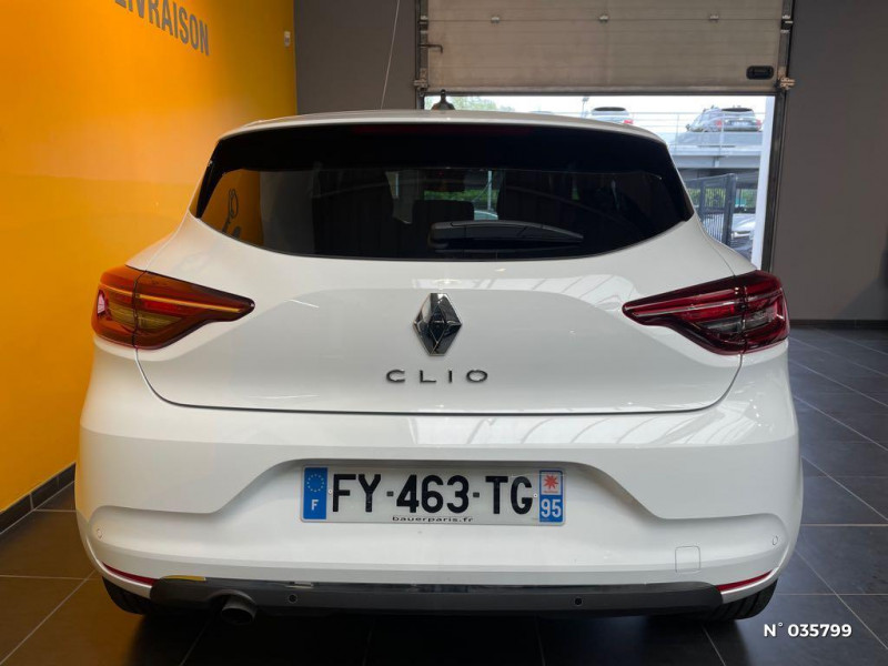 Renault Clio 1.0 TCe 100ch Intens - 20 Blanc occasion à Saint-Maximin - photo n°3