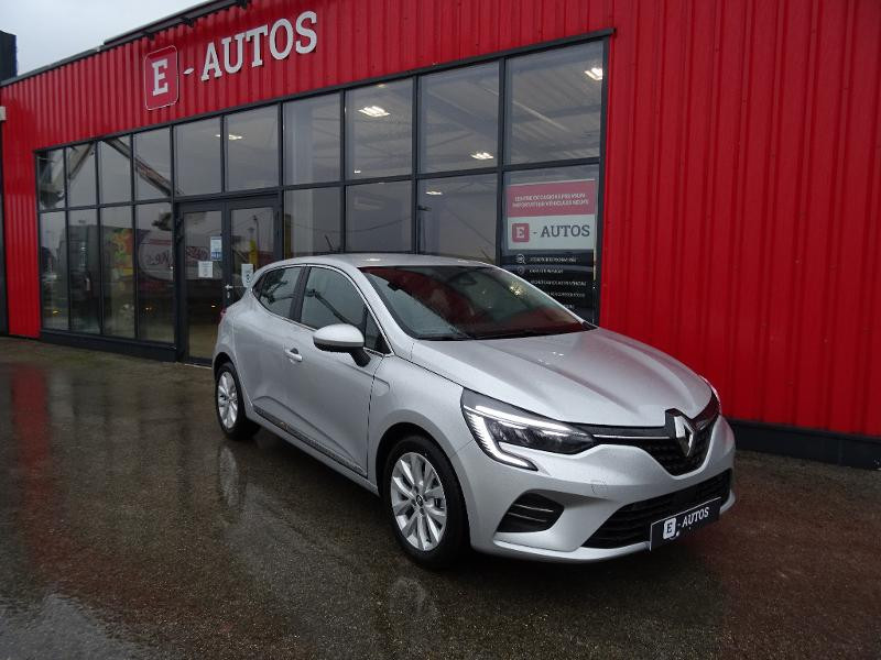 Renault Clio 1.0 TCe 100ch Intens Gris occasion à Barberey-Saint-Sulpice
