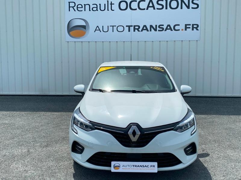 Renault Clio 1.0 TCe 100ch Zen Blanc occasion à Albi - photo n°2