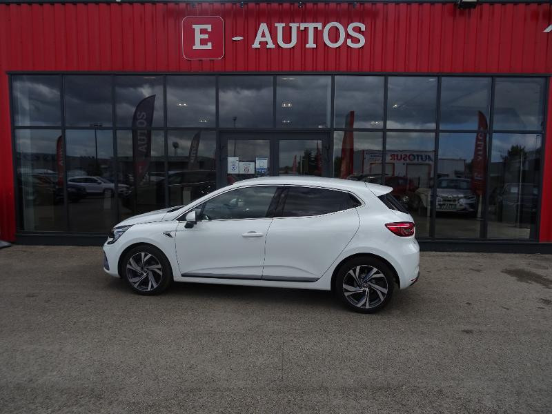 Renault Clio 1.0 TCe 90ch RS Line -21 Blanc occasion à Barberey-Saint-Sulpice - photo n°4