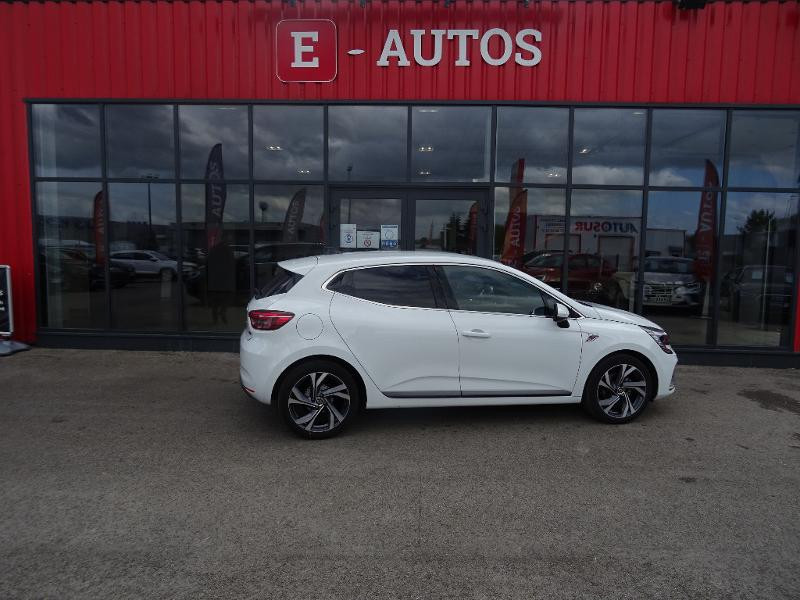Renault Clio 1.0 TCe 90ch RS Line -21 Blanc occasion à Barberey-Saint-Sulpice - photo n°2