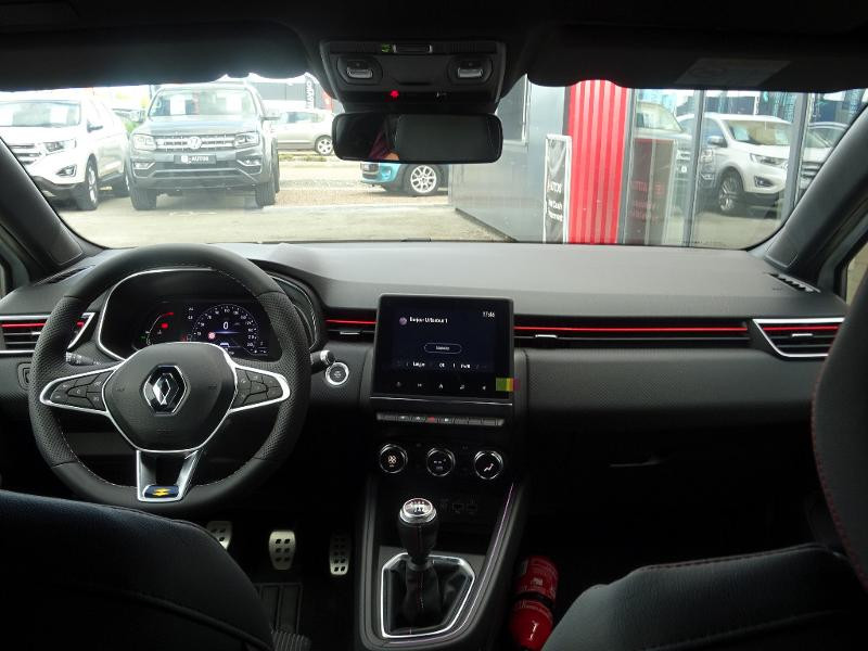 Renault Clio 1.0 TCe 90ch RS Line -21 Blanc occasion à Barberey-Saint-Sulpice - photo n°12