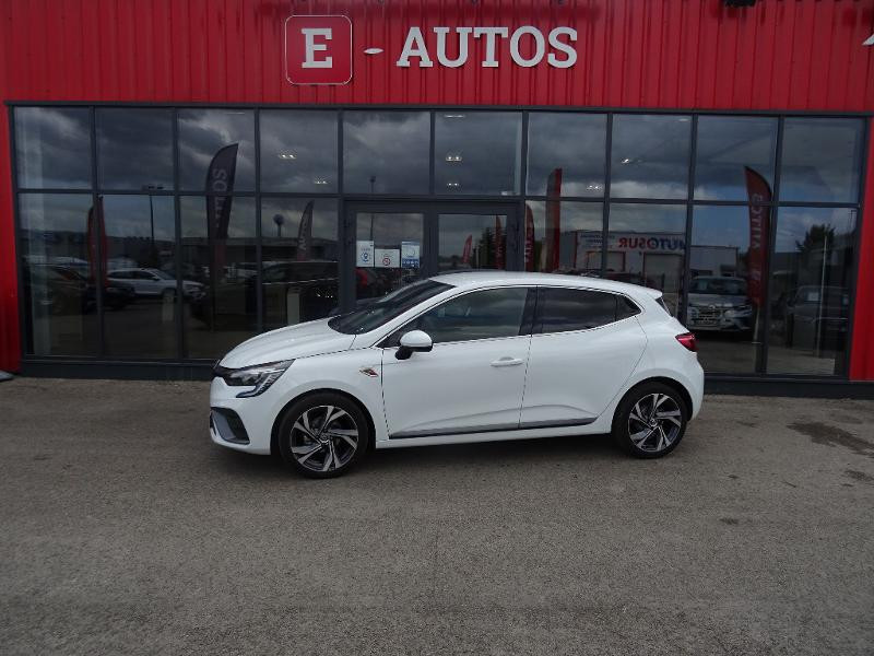 Renault Clio 1.0 TCe 90ch RS Line -21 Blanc occasion à Barberey-Saint-Sulpice - photo n°3