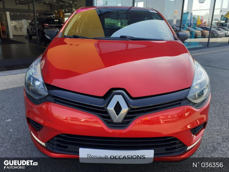 Renault Clio 1.2 16v 75ch Life 5p Rouge occasion à Dieppe - photo n°2