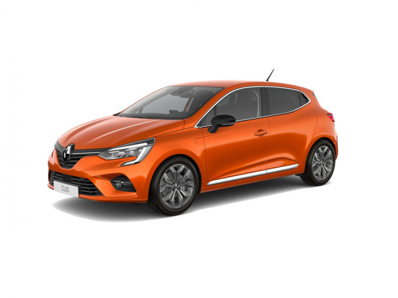 Renault Clio 1.3 TCe 130ch FAP Intens EDC Orange occasion à DAX CEDEX