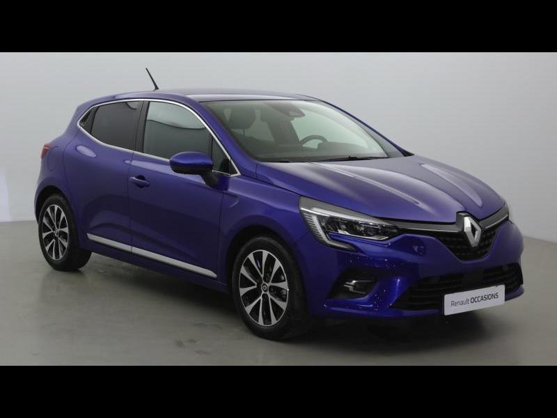 Renault Clio 1.3 TCe 130ch FAP Intens EDC Bleu occasion à Mérignac - photo n°4