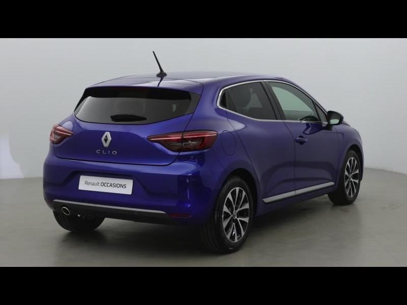 Renault Clio 1.3 TCe 130ch FAP Intens EDC Bleu occasion à Mérignac - photo n°2