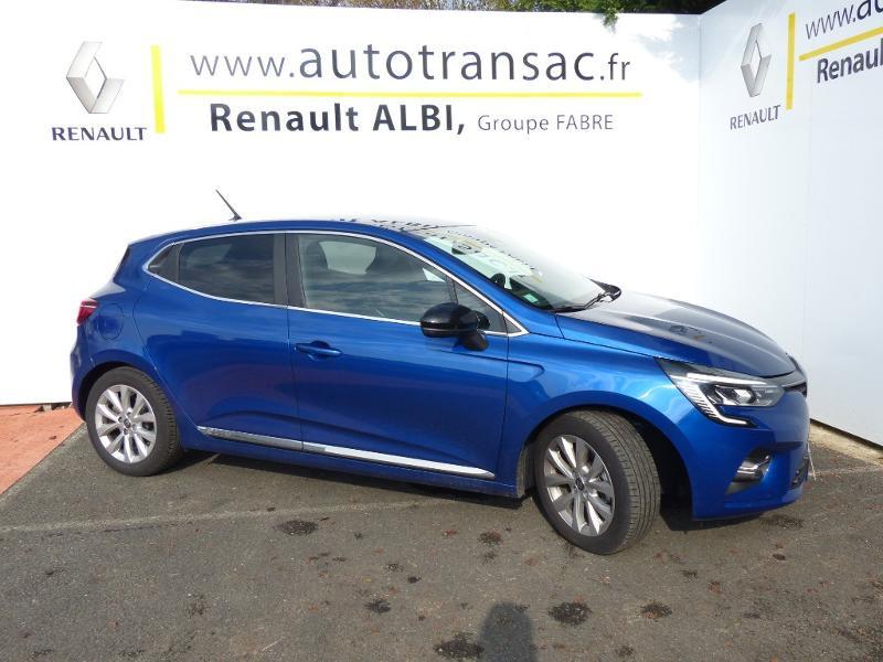Renault Clio 1.3 TCe 140ch Intens -21 Bleu occasion à Rodez - photo n°3