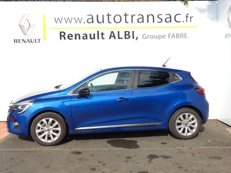 Renault Clio 1.3 TCe 140ch Intens -21 Bleu occasion à Rodez - photo n°4