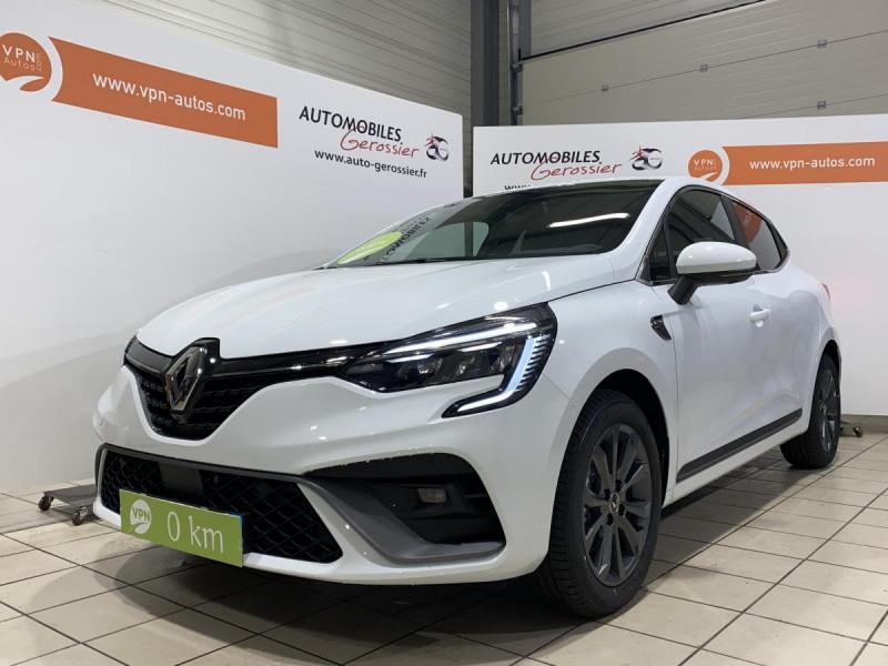 Renault Clio 1.5 Blue dCi - 115  V BERLINE Intens Blanc occasion à Riorges