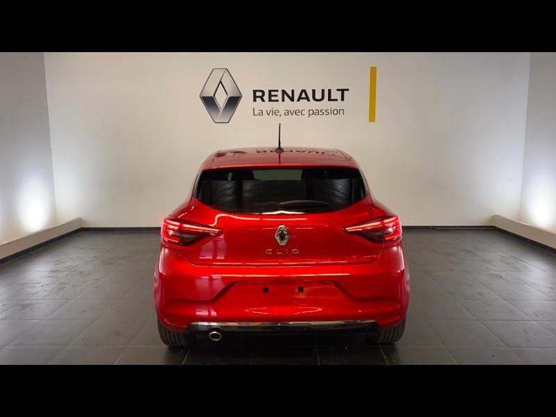 Renault Clio 1.5 Blue dCi 115ch Intens 6cv Rouge occasion à Figeac - photo n°5