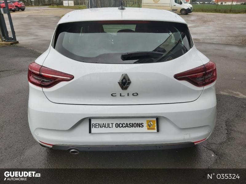 Renault Clio 1.5 Blue dCi 115ch Intens 6cv Blanc occasion à Abbeville - photo n°3