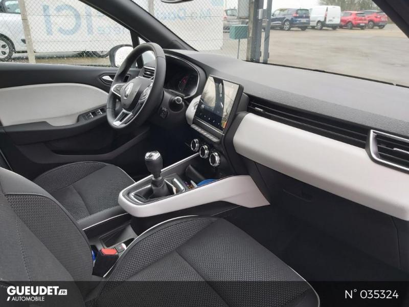 Renault Clio 1.5 Blue dCi 115ch Intens 6cv Blanc occasion à Abbeville - photo n°4