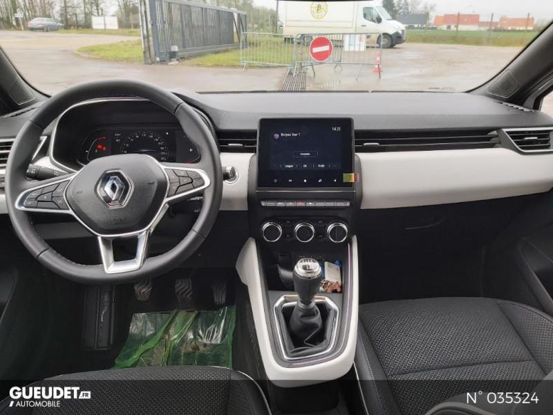Renault Clio 1.5 Blue dCi 115ch Intens 6cv Blanc occasion à Abbeville - photo n°10