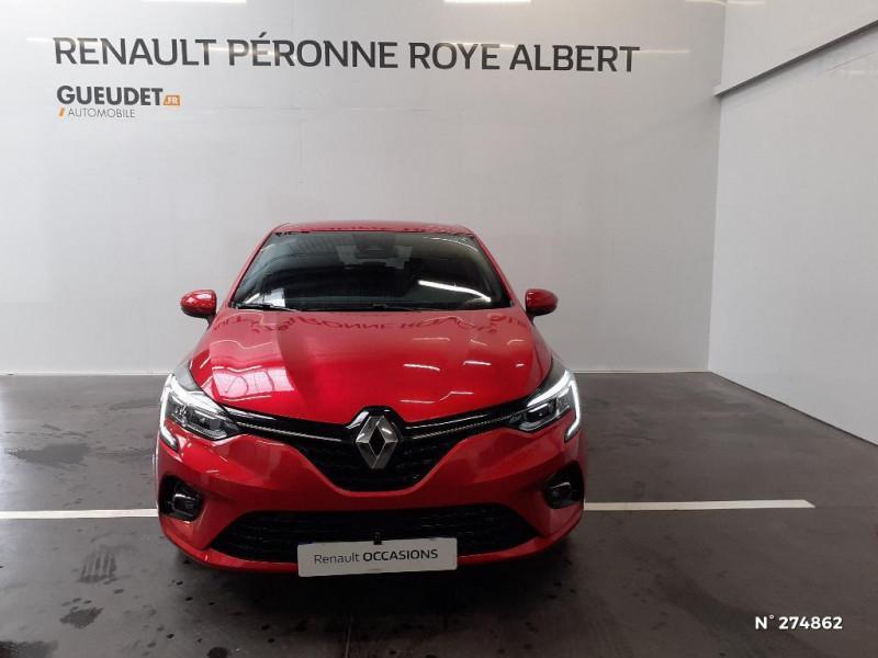 Renault Clio 1.5 Blue dCi 115ch Intens 6cv Rouge occasion à Péronne - photo n°2