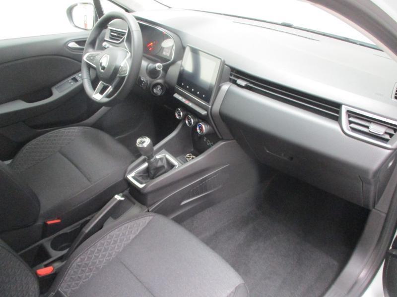 Renault Clio 1.5 Blue dCi 85ch Business Blanc occasion à Villefranche-de-Rouergue - photo n°4