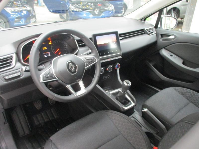 Renault Clio 1.5 Blue dCi 85ch Business Blanc occasion à Villefranche-de-Rouergue - photo n°3