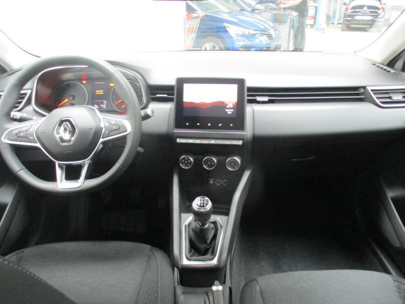 Renault Clio 1.5 Blue dCi 85ch Business Blanc occasion à Villefranche-de-Rouergue - photo n°9