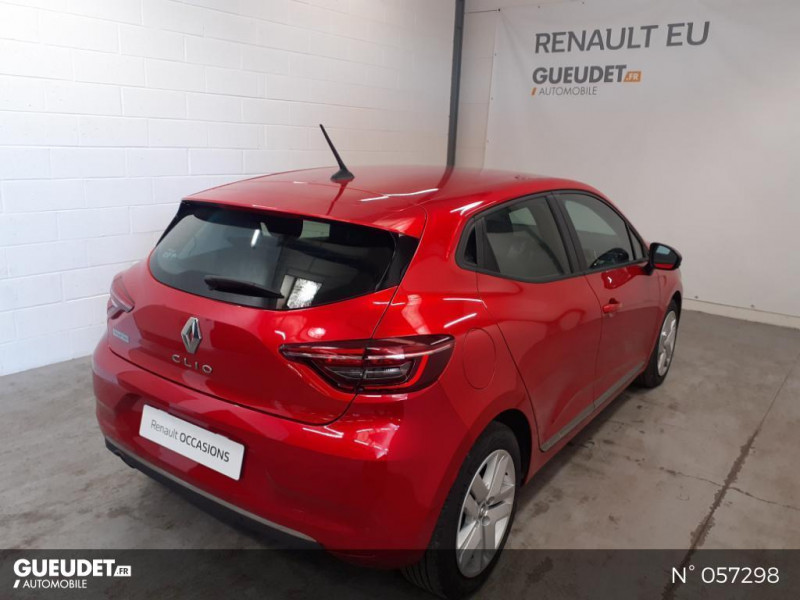 Renault Clio 1.5 Blue dCi 85ch Business Rouge occasion à Eu - photo n°6