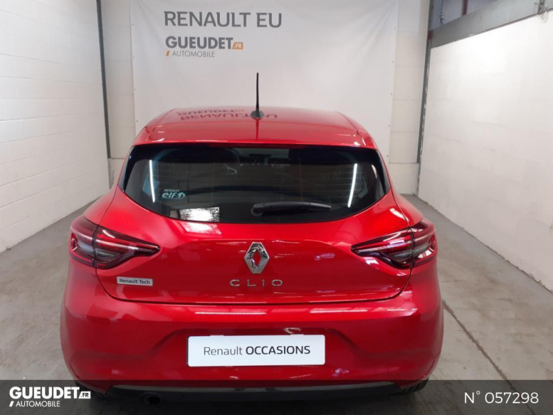 Renault Clio 1.5 Blue dCi 85ch Business Rouge occasion à Eu - photo n°3