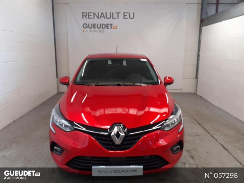 Renault Clio 1.5 Blue dCi 85ch Business Rouge occasion à Eu - photo n°2