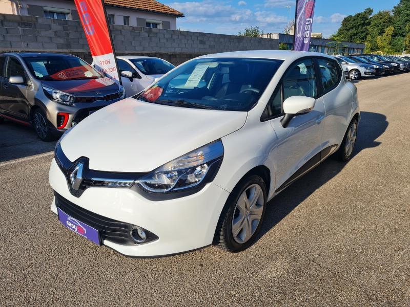 Renault Clio 1.5 dCi 75 Zen Blanc occasion à Auxerre - photo n°9