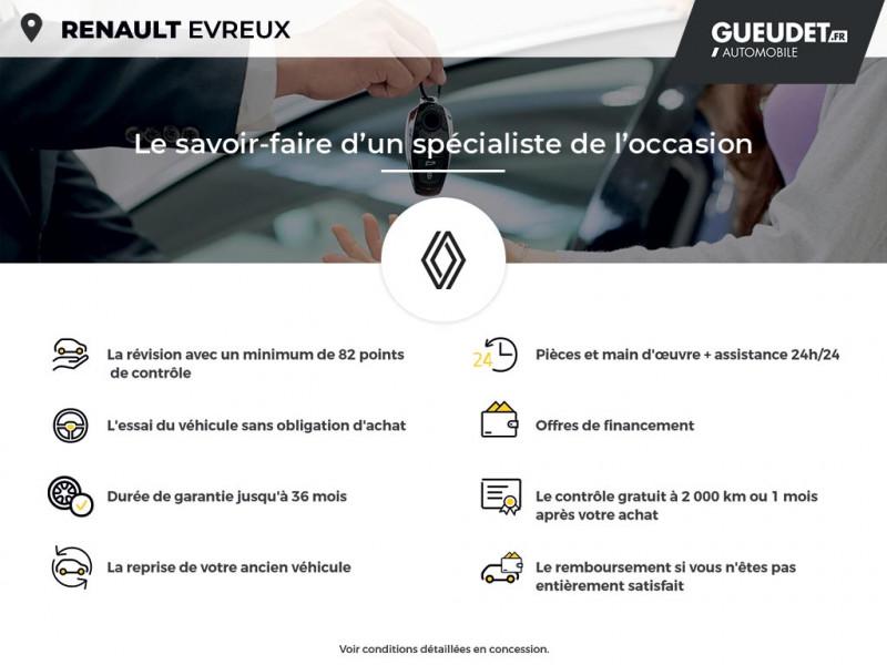 Renault Clio 1.5 dCi 75ch energy Air MédiaNav Blanc occasion à Évreux - photo n°17