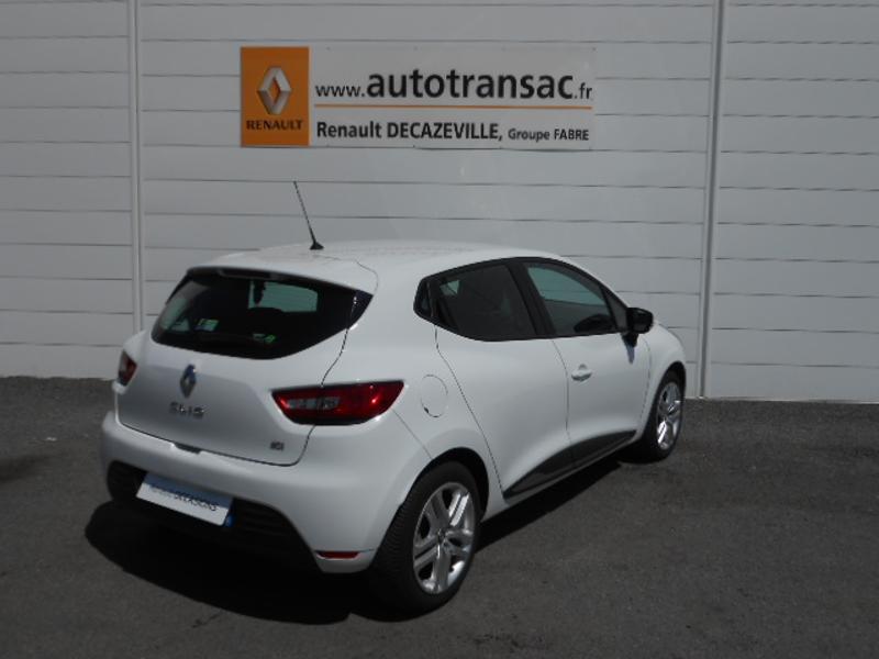 Renault Clio 1.5 dCi 75ch energy Zen 5p Blanc occasion à Rodez - photo n°2