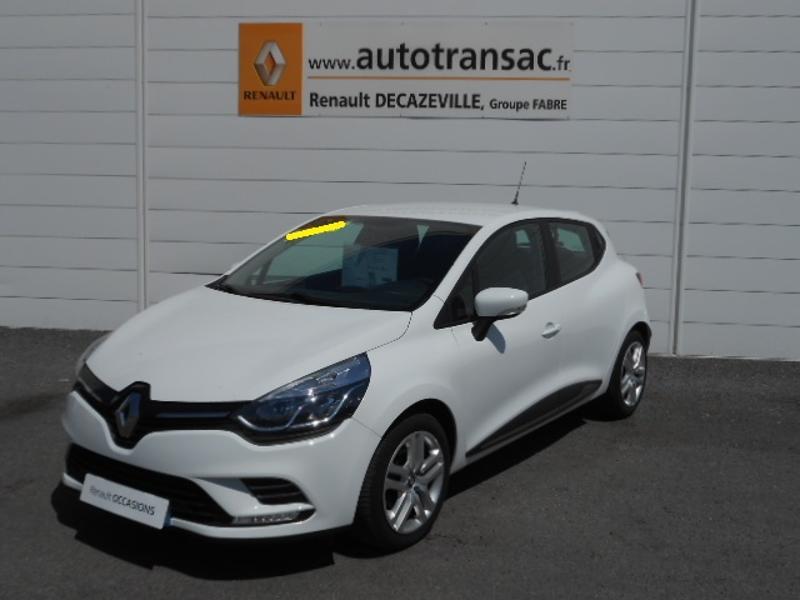 Renault Clio 1.5 dCi 75ch energy Zen 5p Blanc occasion à Rodez